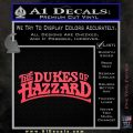 Dukes of Hazzard T1 Decal Sticker Pink Vinyl Emblem 120x120