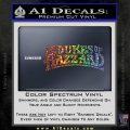 Dukes of Hazzard T1 Decal Sticker Sparkle Glitter Vinyl 120x120