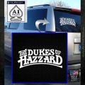 Dukes of Hazzard T1 Decal Sticker White Emblem 120x120