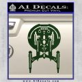Enterprise NX 01 Decal Sticker Star Trek Dark Green Vinyl 120x120