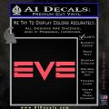 Eve Online Logo Decal Sticker Pink Vinyl Emblem 120x120