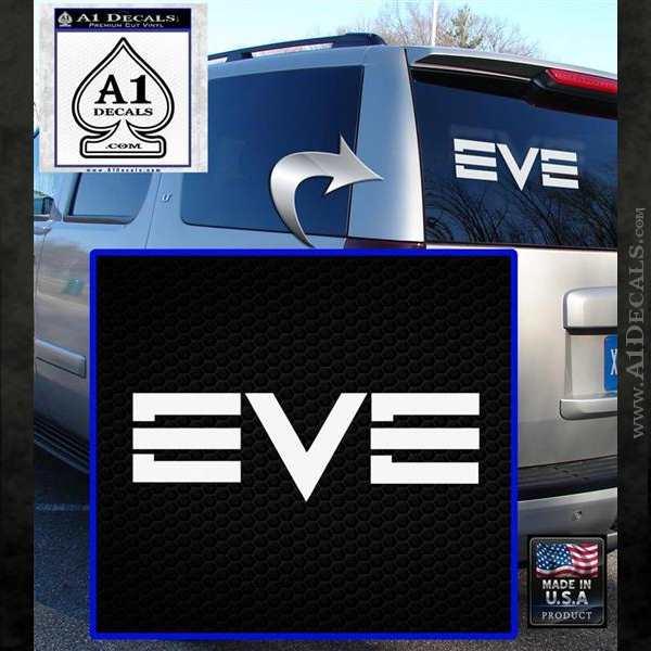 Eve Online Logo Decal Sticker White Emblem