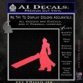 Final Fantasy 7 Cloud Decal Sticker DP Pink Vinyl Emblem 120x120