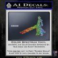 Final Fantasy 7 Cloud Decal Sticker DP Sparkle Glitter Vinyl 120x120