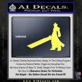 Final Fantasy 7 Cloud Decal Sticker DP Yelllow Vinyl 120x120