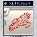 Firefly Serenity Ship Decal Sticker Red Vinyl 120x120