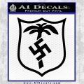 German WW2 Afrika Korps Decal Sticker Black Logo Emblem 120x120