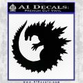 Godzilla CR Decal Sticker Black Logo Emblem 120x120