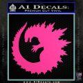 Godzilla CR Decal Sticker Hot Pink Vinyl 120x120
