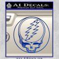 Grateful Dead Rock Band DO Decal Sticker Blue Vinyl 120x120