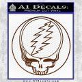 Grateful Dead Rock Band DO Decal Sticker Brown Vinyl 120x120