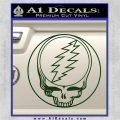 Grateful Dead Rock Band DO Decal Sticker Dark Green Vinyl 120x120
