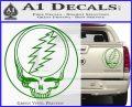 Grateful Dead Rock Band DO Decal Sticker Green Vinyl 120x97