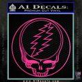 Grateful Dead Rock Band DO Decal Sticker Hot Pink Vinyl 120x120