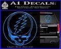 Grateful Dead Rock Band DO Decal Sticker Light Blue Vinyl 120x97