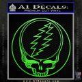 Grateful Dead Rock Band DO Decal Sticker Lime Green Vinyl 120x120