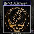 Grateful Dead Rock Band DO Decal Sticker Metallic Gold Vinyl Vinyl 120x120