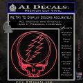 Grateful Dead Rock Band DO Decal Sticker Pink Vinyl Emblem 120x120
