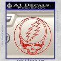 Grateful Dead Rock Band DO Decal Sticker Red Vinyl 120x120