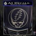 Grateful Dead Rock Band DO Decal Sticker Silver Vinyl 120x120