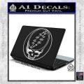 Grateful Dead Rock Band DO Decal Sticker White Vinyl Laptop 120x120