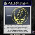 Grateful Dead Rock Band DO Decal Sticker Yelllow Vinyl 120x120