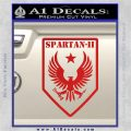 Halo Spartan Insignia Decal Sticker Red Vinyl 120x120