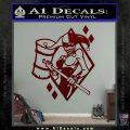 Harley Quinn DIA Decal Sticker Dark Red Vinyl 120x120