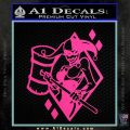 Harley Quinn DIA Decal Sticker Hot Pink Vinyl 120x120
