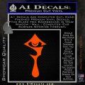 Hellsing Anime Decal Sticker Logo Orange Vinyl Emblem 120x120