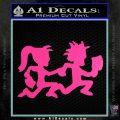 ICP Insane Clown Posse Couple Decal Sticker Juggalo RDZ Decal Sticker Hot Pink Vinyl 120x120