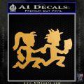 ICP Insane Clown Posse Couple Decal Sticker Juggalo RDZ Decal Sticker Metallic Gold Vinyl Vinyl 120x120