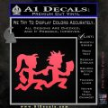 ICP Insane Clown Posse Couple Decal Sticker Juggalo RDZ Decal Sticker Pink Vinyl Emblem 120x120