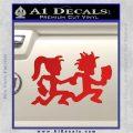 ICP Insane Clown Posse Couple Decal Sticker Juggalo RDZ Decal Sticker Red Vinyl 120x120