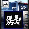 ICP Insane Clown Posse Couple Decal Sticker Juggalo RDZ Decal Sticker White Emblem 120x120