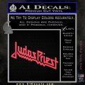 Judas Priest Decal Sticker Pink Vinyl Emblem 120x120