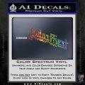 Judas Priest Decal Sticker Sparkle Glitter Vinyl 120x120