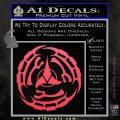Klingon Batliff Sword CR Decal Sticker Pink Vinyl Emblem 120x120