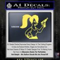 Leela Decal Sticker D8 Futurama Yelllow Vinyl 120x120