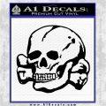 Nazi Death Skull DL Black Logo Emblem 120x120