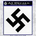 Nazi Swastika Decal Sticker D0 Black Logo Emblem 120x120