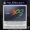 300 Movie Title Decal Sticker Sparta Sparkle Glitter Vinyl 120x120