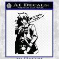 Akame Ga Kill Wave Anime Decal Sticker Black Logo Emblem 120x120