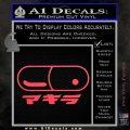 Akira Pill Anime Decal Sticker Pink Vinyl Emblem 120x120