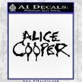 Alice Cooper Decal Sticker TX1 Black Logo Emblem 120x120