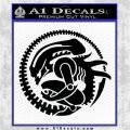Aliens Movie CR Decal Sticker Black Logo Emblem 120x120