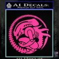 Aliens Movie CR Decal Sticker Hot Pink Vinyl 120x120