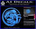 Aliens Movie CR Decal Sticker Light Blue Vinyl 120x97