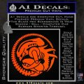 Aliens Movie CR Decal Sticker Orange Vinyl Emblem 120x120