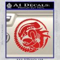 Aliens Movie CR Decal Sticker Red Vinyl 120x120